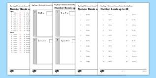 number bonds to 20 teaching resources page 3