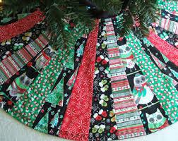 tree skirt 36 batik and green tree fabric