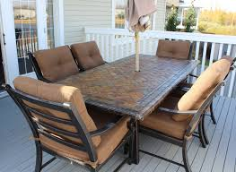Patio Umbrella Tables by Patio Costco Patio Table Home Designs Ideas
