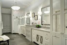 traditional bathroom with gray tile floors this traditional