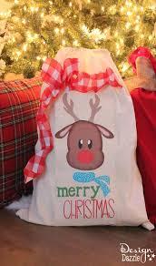 santa sacks simple and easy to make santa sacks design dazzle