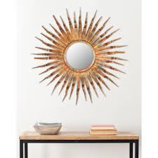 Mirror Wall Decor bronze copper metallic mirrors wall decor the home depot