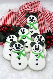 mickey mouse snowman cookie recipe serendipity and spice