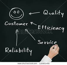business writing concept quality efficiency stock photo