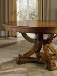round pedestal dining table with leaf hooker furniture dining room tynecastle round pedestal dining table