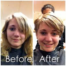 haircuts after donating hair haircut thegallery angela before after hair donati flickr