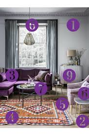 room reveal purple and grey living room u2013 sophie robinson