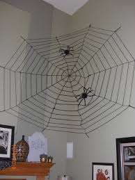 halloween decorations spider web stylish all dining room