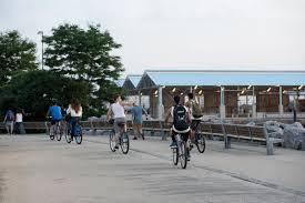 biking brooklyn bridge park