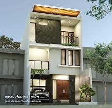 desain rumah lebar 6 meter desain rumah minimalis 3 lantai lebar 6 meter modern elegan jasa