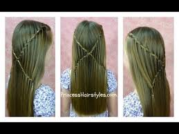braided hairstyle instructions step by step how to do criss cross waterfall twist braid hairstyles step by step