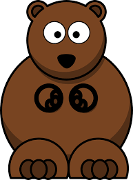 imagenes animadas oso oso lindo dibujos animados gráficos vectoriales gratis en pixabay