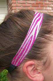 glitter headbands zebra glitter headbands
