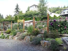 Vegetable Garden Front Yard by Deer Proof Fence This Is So Perfect The Rocks In Front Give