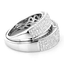 wedding bands sets his and hers matching his and hers wedding band set in sterling silver