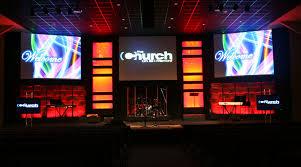 Church Lighting Design Ideas Woven Bubbles Church Stage Design Ideas