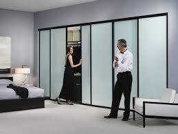 closet with sliding door for bedroom saudireiki