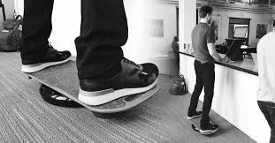 benefits of a standing desk balance board improve focus and posture