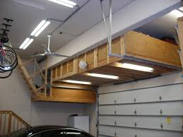garage loft ideas garage storage loft by td69mustang homerefurbers com home