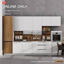 pre assembled kitchen cabinets oppein 360cm width pre assembled kitchen cabinet lacquer finish