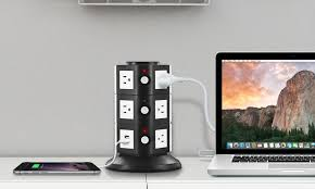 65 off on aduro surge charging station groupon goods