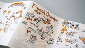 Restaurant Map New Orleans by New Orleans Fold Out Map With Neenah