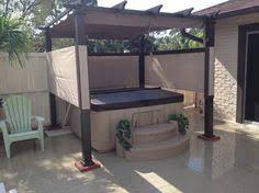 hampton bay 9 1 2 ft x 9 1 2 ft steel pergola with canopy