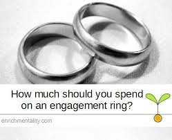how much should you spend on engagement ring how much should you spend on an engagement ring enrichmentality