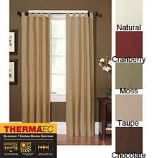 Thermal Back Curtains Thermal Tab Top Curtains Foter