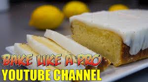 easy lemon pound cake recipe with lemon glaze youtube