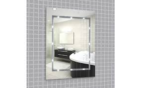 ip44 rated battery operated led bathroom mirror light 6400k