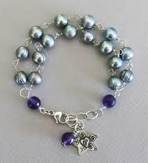 turquoise pearls bracelet images Handmade pearl bracelet handmade jewelry jpg