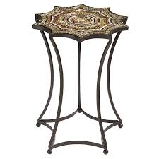 starburst mosaic accent table pier 1 imports living room