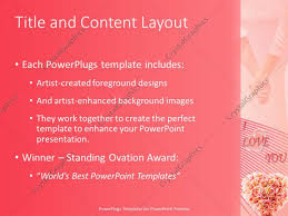 powerpoint template a number of flowers with i love you in the