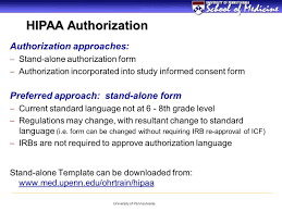 hipaa requirements for patient oriented research ppt video