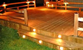 impressive outdoor deck lights ideas collection deck remodel 2017