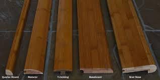 Laminate Flooring Skirting Board Trim by Bamboo Flooring Trim Threshold Baseboard Wall Base