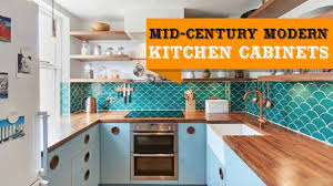mid century modern kitchen cabinet colors 55 mid century modern kitchen cabinets ideas