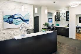 Front Desk Office Spinecare Chiropractic Office Design