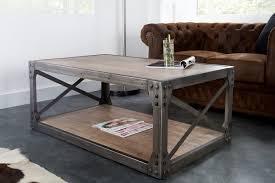 Table Salon Moderne by Table Basse Bois Et Metal Rectangulaire U2013 Phaichi Com