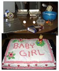 homemade baby shower cake perfectbabyshower com