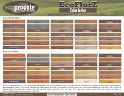 Stain Color Chart Concrete Coating Color Chart Stain Color Chart Concrete Coating Color Chart