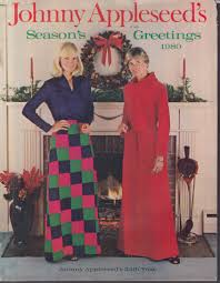 appleseed catalog johnny appleseed s season s greetings women s clothing catalog 1980