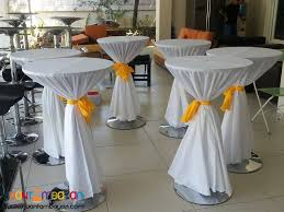 cocktail table rental bar table cocktail table manila a2zevents theresa