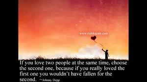 Johnny Depp Quote On Love by Pehla Nasha Slow Version By Raunak Bonifacius Youtube