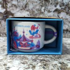 mug ornament disneyland starbucks fantasyland mug ornament 2 oz from disney