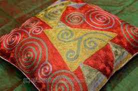 klimt accent pillow cover