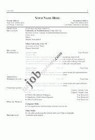 resume free chronological resume template microsoft word