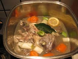 Fish Stock, Home Prepared