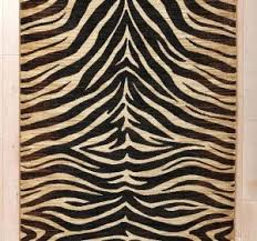 Black And White Zebra Area Rug Animal Print Area Rug Leopard Print Area Rugs Cheetah Print Living